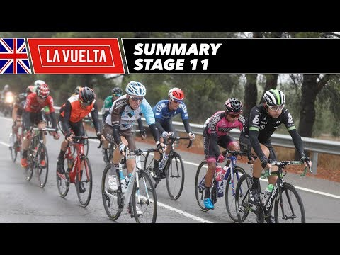 Summary - Stage 11 - La Vuelta 2017
