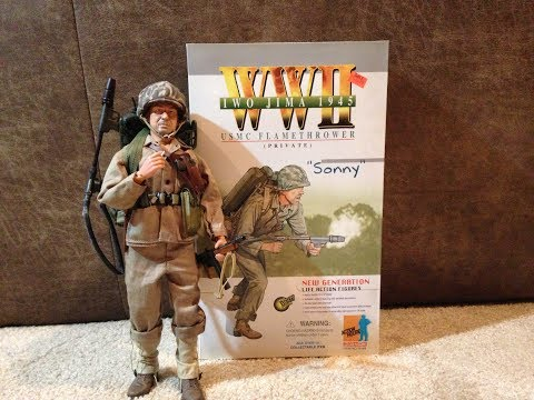 """Dragon 2002 WW2 Iwo Jima 1945 """"Sonny"""" Review"""