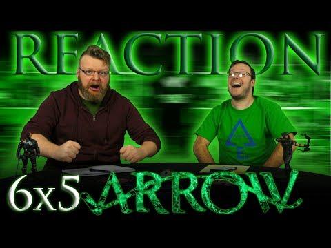 "Arrow 6x5 REACTION!! ""Deathstroke Returns"""