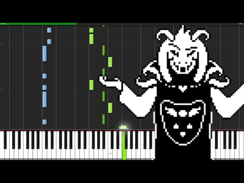 Hopes and Dreams - Undertale [Piano Tutorial] (Synthesia)
