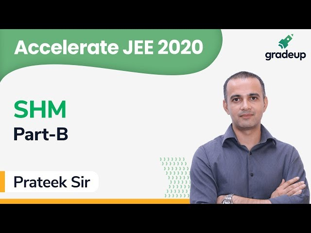 JEE 2020 | Class 7 | Physics | SHM by Prateek Sir