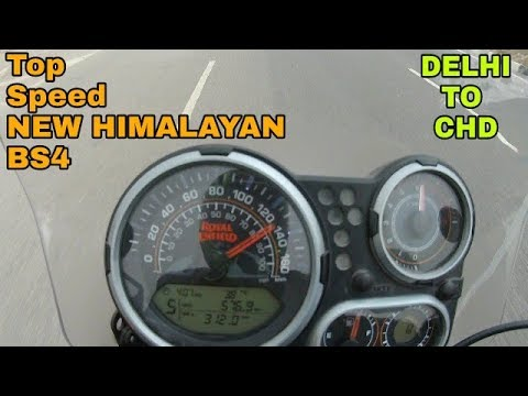 TOP SPEED | FLAG OFF | HIMALAYAN | ROYAL ENFIELD | BS4 | DELHI TO CHANDIGARH | VBO Vlogs | 2018