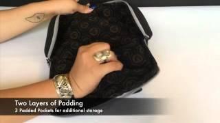 NEW VATRA Peacful Warrior Duffle Bag