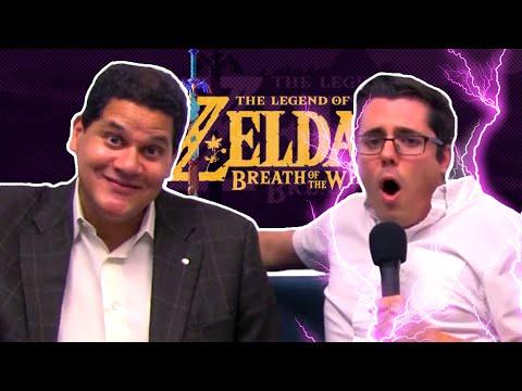 SHOCKING LEGEND OF ZELDA: BREATH OF THE WILD DETAILS (E3 Bonus)