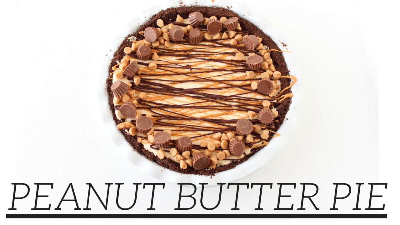 Peanut Butter Pie | Easy Homemade Recipe - YouTube