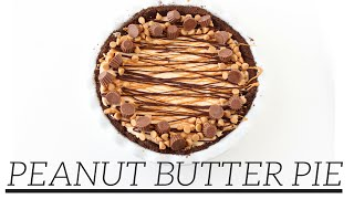 Peanut Butter Pie | Easy Homemade Recipe