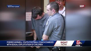 Former Norwell football coach charged with sexual exploitation of children