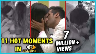 11 H0t INTIMATE Moments from Bigg Boss 11 | Puneesh Sharma, Bandgi Kalra, Shilpa Shinde, Arshi Khan