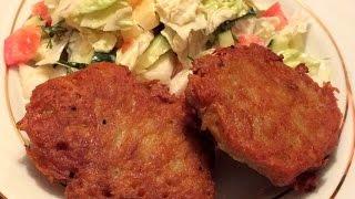 Пышные картофельные колдуны с фаршем рецепт драники