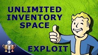Fallout 4 Unlimited Inventory Space Exploit - Never Be Encumbered With Companion Inventory Glitch