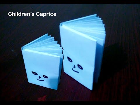 How To Make Mini Note Book/Diy Paper Book/Mini Diary