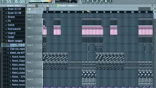Fl Studio Tiesto Red Lights Remake+Download FLP