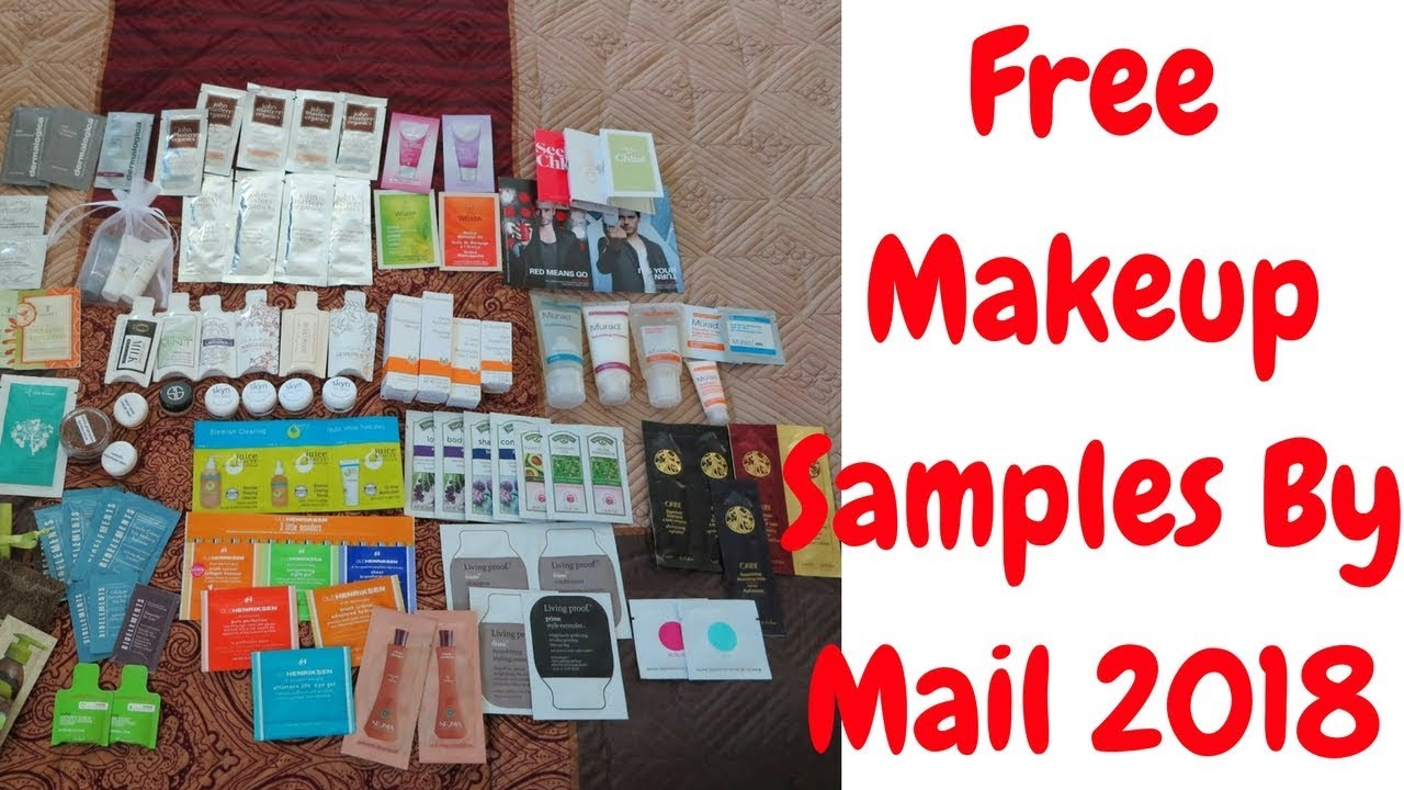 Free makeup by mail 2018