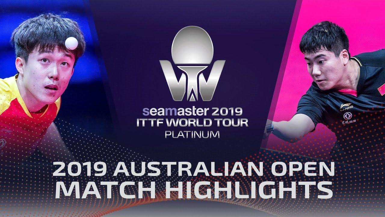 Wang Chuqin vs Liang Jingkun | 2019 ITTF Australian Open Highlights (1/4)