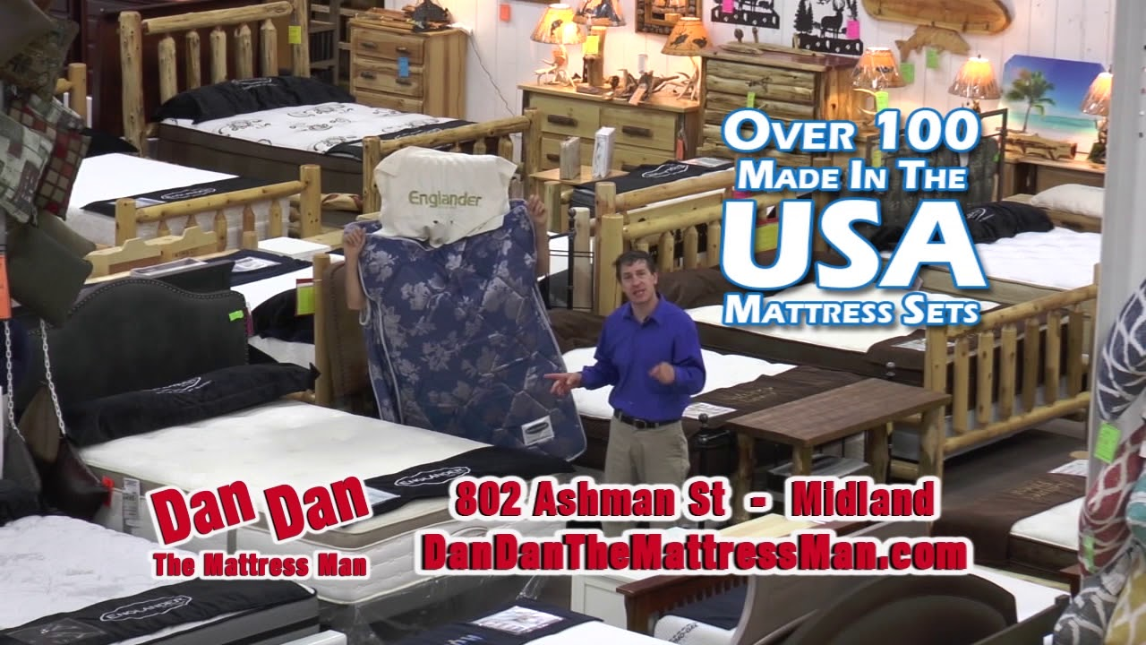Dan Dan The Mattress Man Commercial Youtube