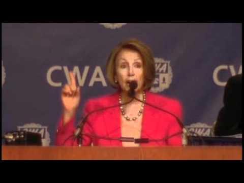 72nd CWA Convention Speaker Pelosi