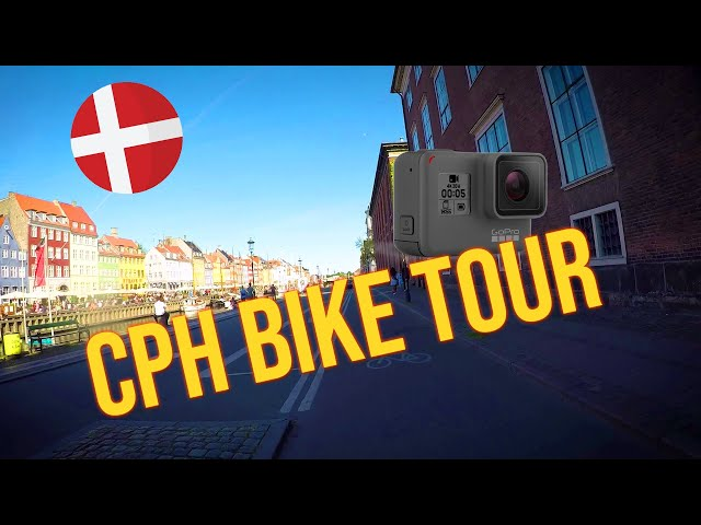 A FAST MOTION BIKE TOUR OF COPENHAGEN 🚲 Nørrebro to Reffen #GoProHero5Black
