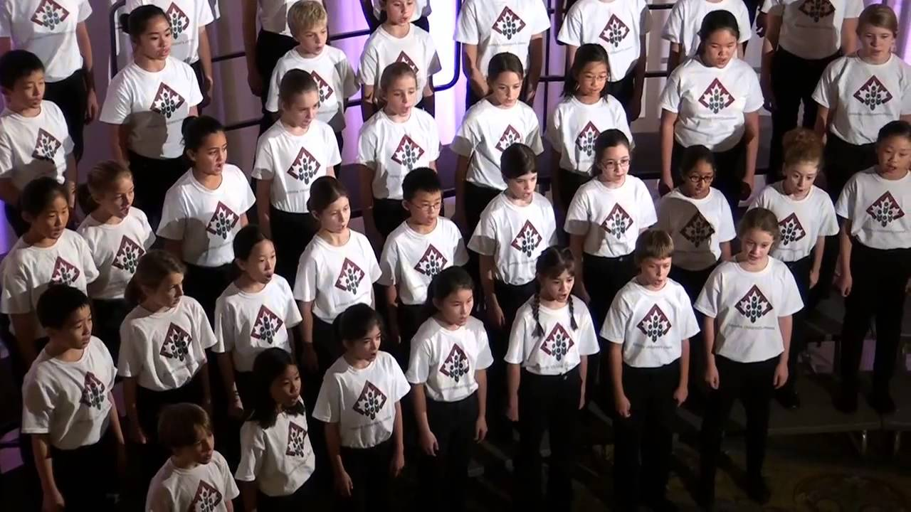 Toronto Children's Chorus - Three Fine Ships - YouTube
