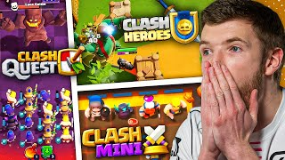 DREI NEUE SUPERCELL SPIELE ENTHÜLLT! | Clash Quest, Clash Mini, Clash Heroes - Mein erster Eindruck!