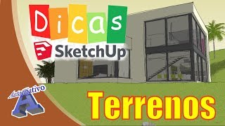 Terrenos no SketchUp (Parte 4) - Ferramentas Caixas de Areia - Autocriativo