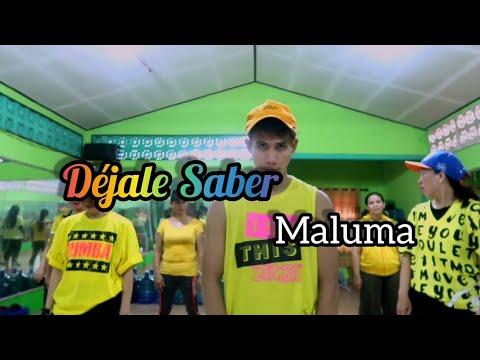 Maluma - Déjale Saber  ZUMBA  FITNESS  At RAD STUDIO PENAJAM