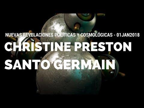Santo Germain - Nuevas Revelaciones Políticas y Cosmológicas - 01JAN2018 - 4K