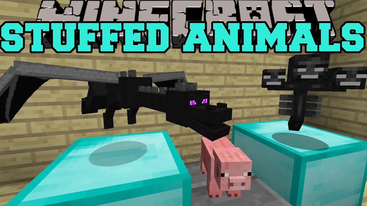 how to make a stuffed animal in minecraft pe