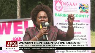 Women legislators dismiss Moses Kuria's proposal to scrap Women Rep position