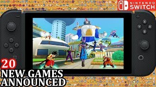 20 New Switch Games Announced For Week 3 October 2018 | Weekly Nintendo Direct News