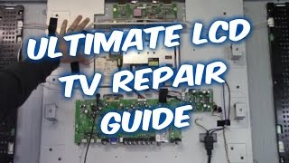 ULTIMATE LCD TV REPAIR SERVICE GUIDE for TROUBLESHOOTING BOARD VOLTAGES