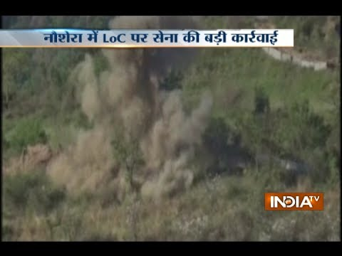 Thumbnail: Indian Army destroys Pak military posts in 'punitive' fire assaults