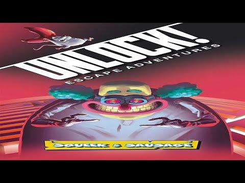 Unlock: Squeak and Sausage Runthrough {SPOILERS!}