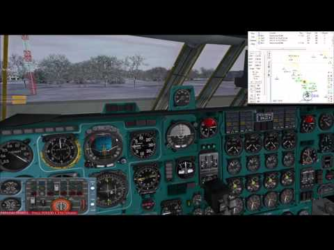 Military excercise at Minsk   IL-76 Russian Air Force   VATSIM