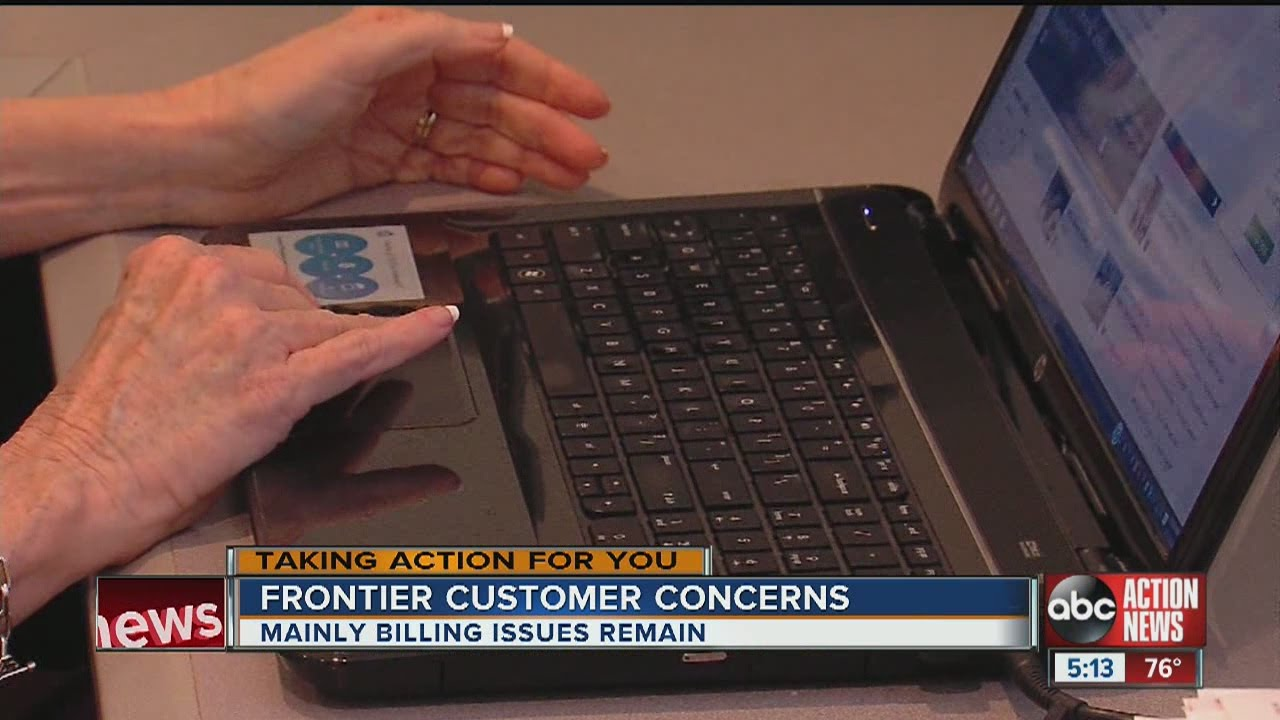 Frontier 'working to resolve' internet issues in Tampa Bay