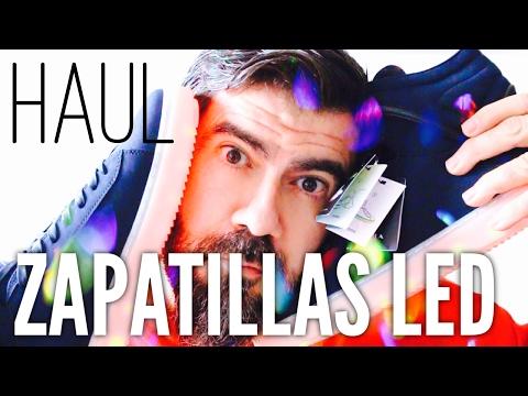 HAUL: Zapatillas con Luces Led de Zara YouTube