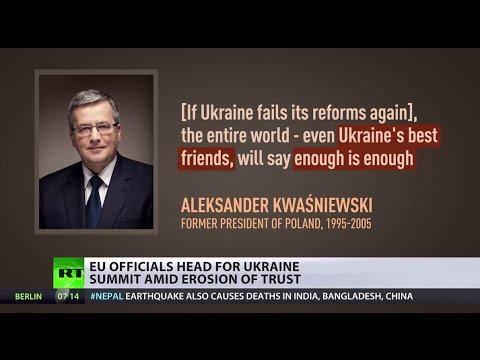 Losing Faith: EU officials back off as Ukraine reforms fail
