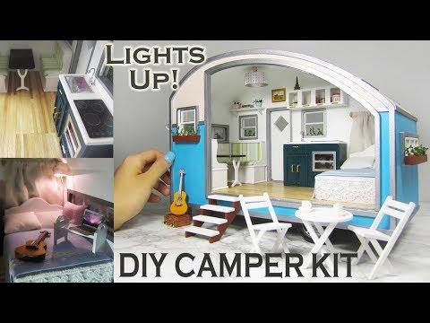 DIY Caravan Dollhouse Kit (with a modern spin!)