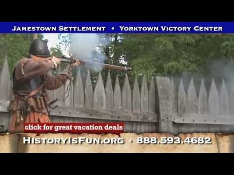 Jamestown Settlement & Yorktown Victory Center Historical Attraction Tours 2012 :15 Spot