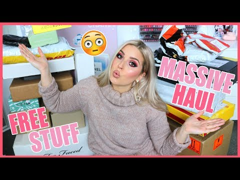 Unboxing Over 28 Packages! 😱💕 HUGE Makeup NEW STUFF Haul!