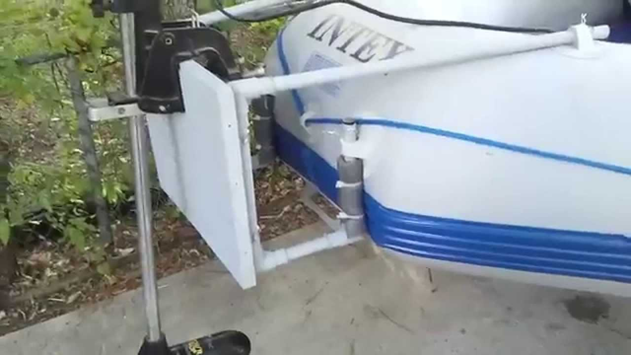 How To Build A Trolling Motor Mount Youtube