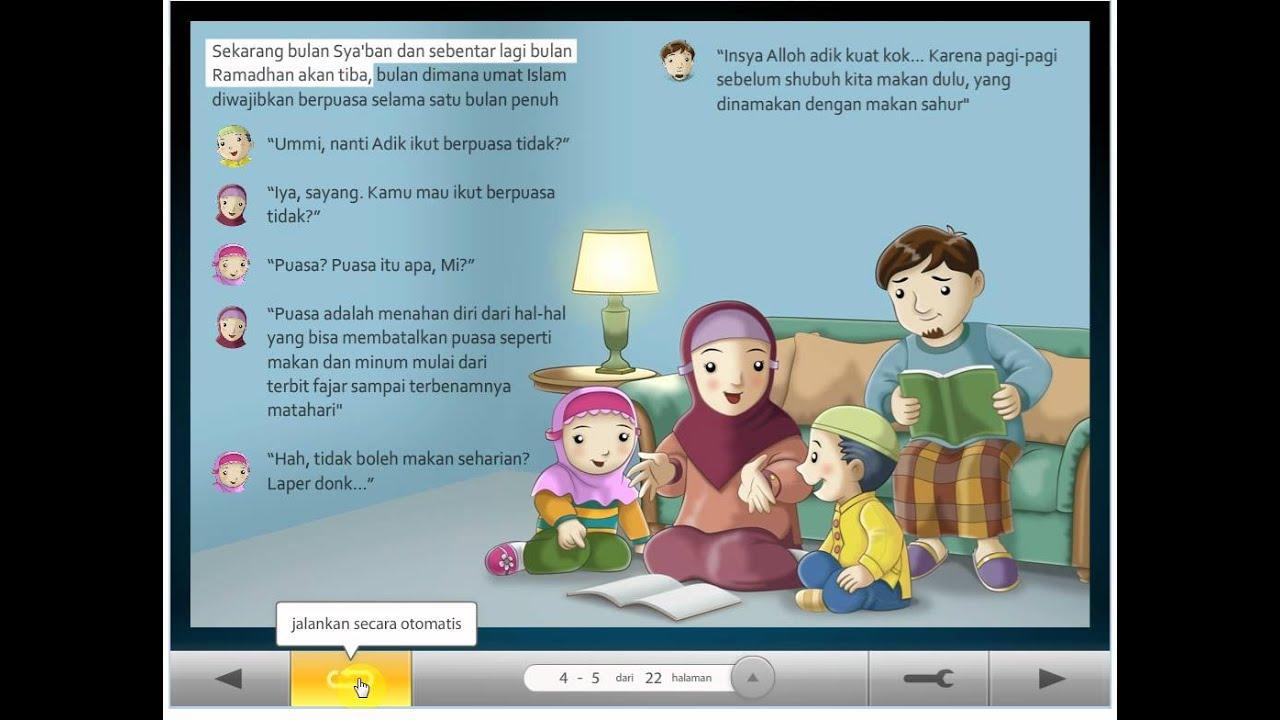 Audio Flip Book Berpuasa Di Bulan Ramadhan YouTube
