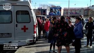 09.10.2018 Ачинск. Пожар на 1 микрорайоне, дом 35.