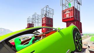 Mario VS Snipers - GTA V Online Funny Moments | JeromeACE
