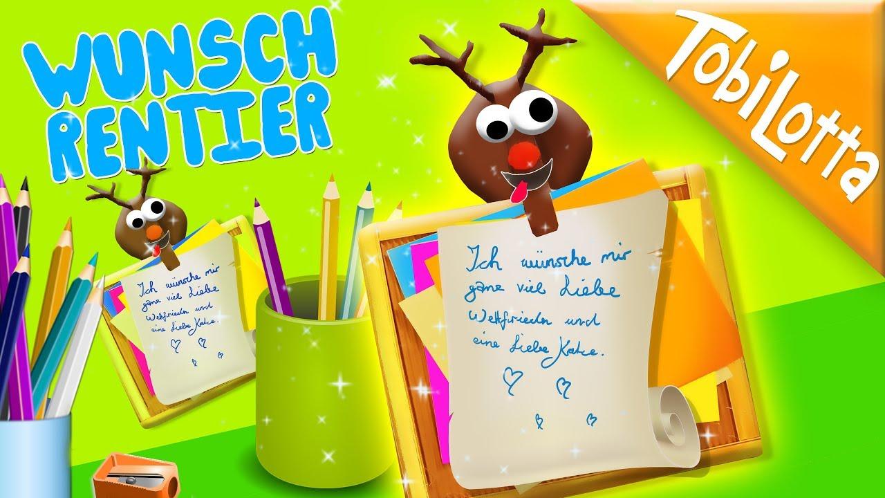 DIY-Geschenk-Idee Rentier + Bilderrahmen DIY | Advent DIY Deutsch ...