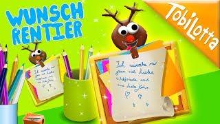 DIY-Geschenk-Idee Rentier  + Bilderrahmen DIY   Advent DIY Deutsch   Rentier DIY TobiLotta141