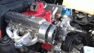 Sauvetage d'un Range Rover V8