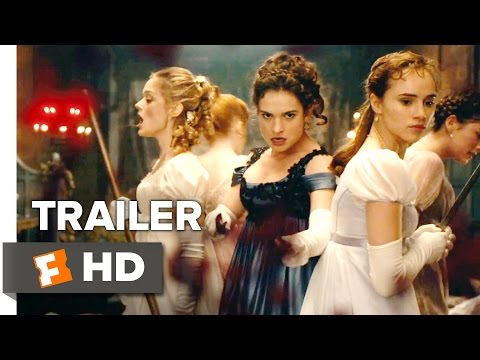 Pride and Prejudice and Zombies Official 'Bloody Good' Trailer (2016) - Lily James Movie HD