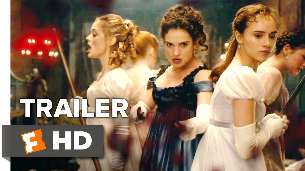 ... Zombies Official 'Bloody Good' Trailer (2016) - Lily James Movie HD