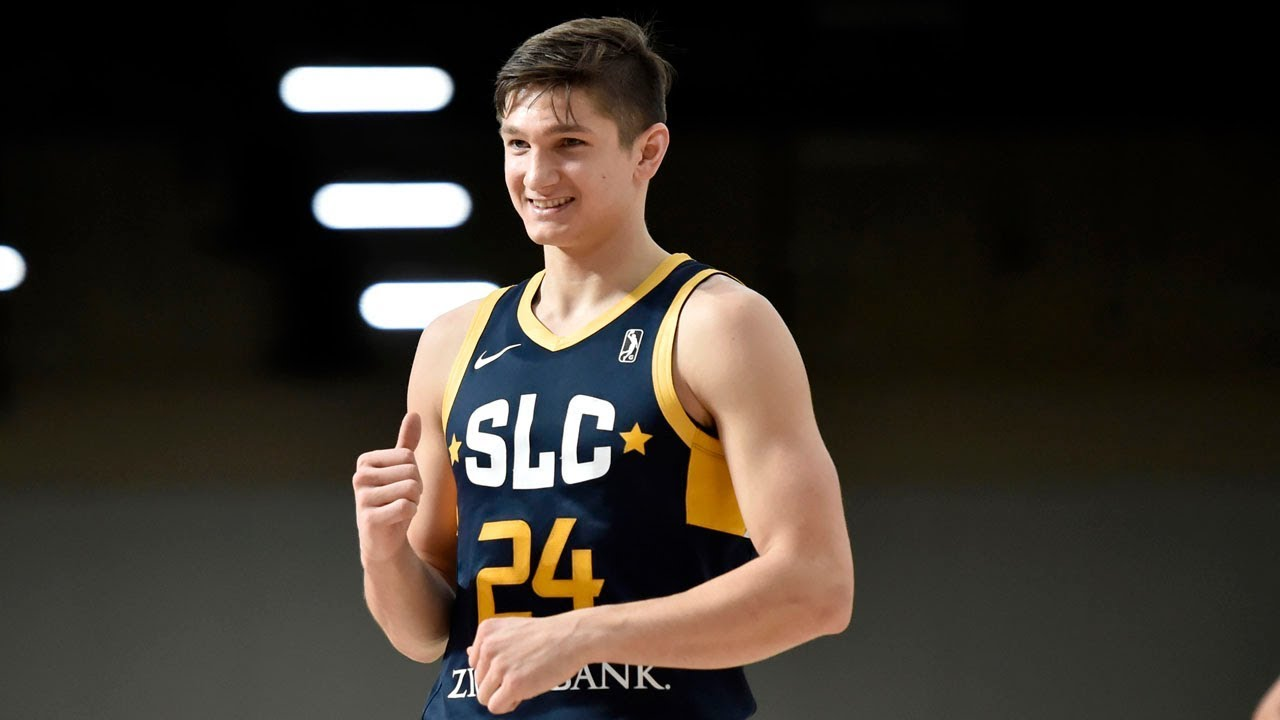 separation shoes 9864b e39dd Grayson Allen (Utah Jazz Rookie) Full NBA G League Highlights With Salt  Lake City Stars!