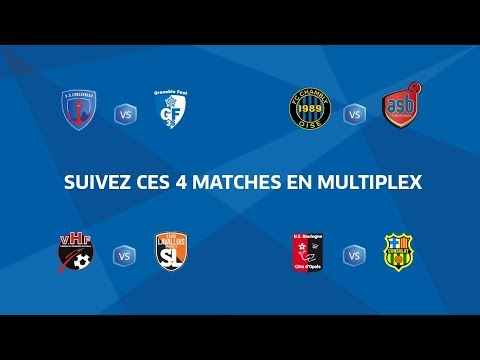 MULTIPLEX I National, Journée 33 : Vendredi 04/05/2018 à 19h45